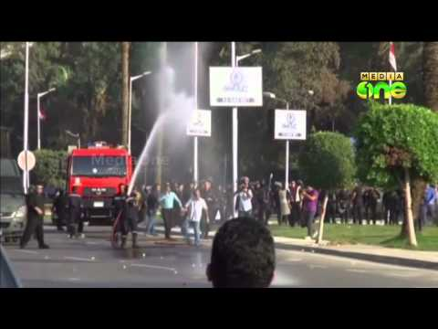 Egyptian student killed as security forces clash with protesters in Cairo