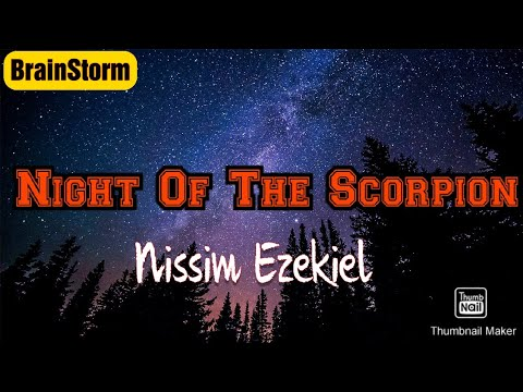 Night of the Scorpion by Nissim Ezekiel