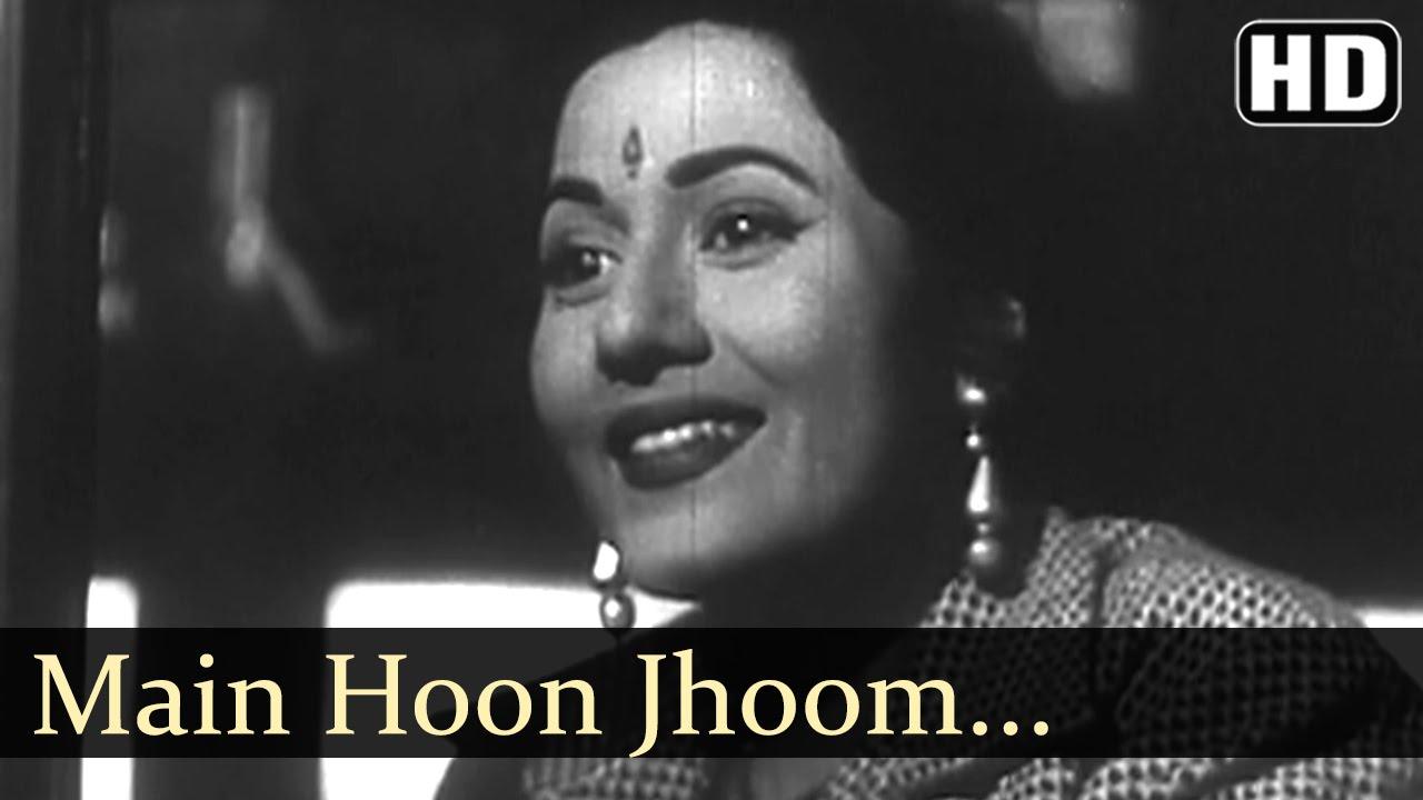 Download Main Hoon Jhoom Jhoom Jhumroo  - Jhumroo Songs - Kishore Kumar - Madhubala - Fun Song - Filmigaane
