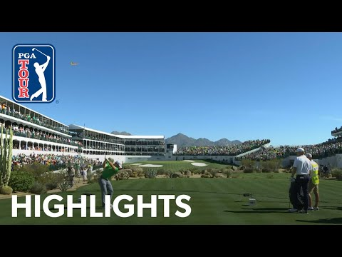 Best shots from No. 16 at 2020 Waste Management Phoenix Open 2020