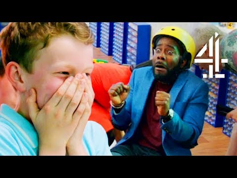 Host Accidentally Breaks Kid's Lego Creation By Sitting On It! | LEGO MASTERS