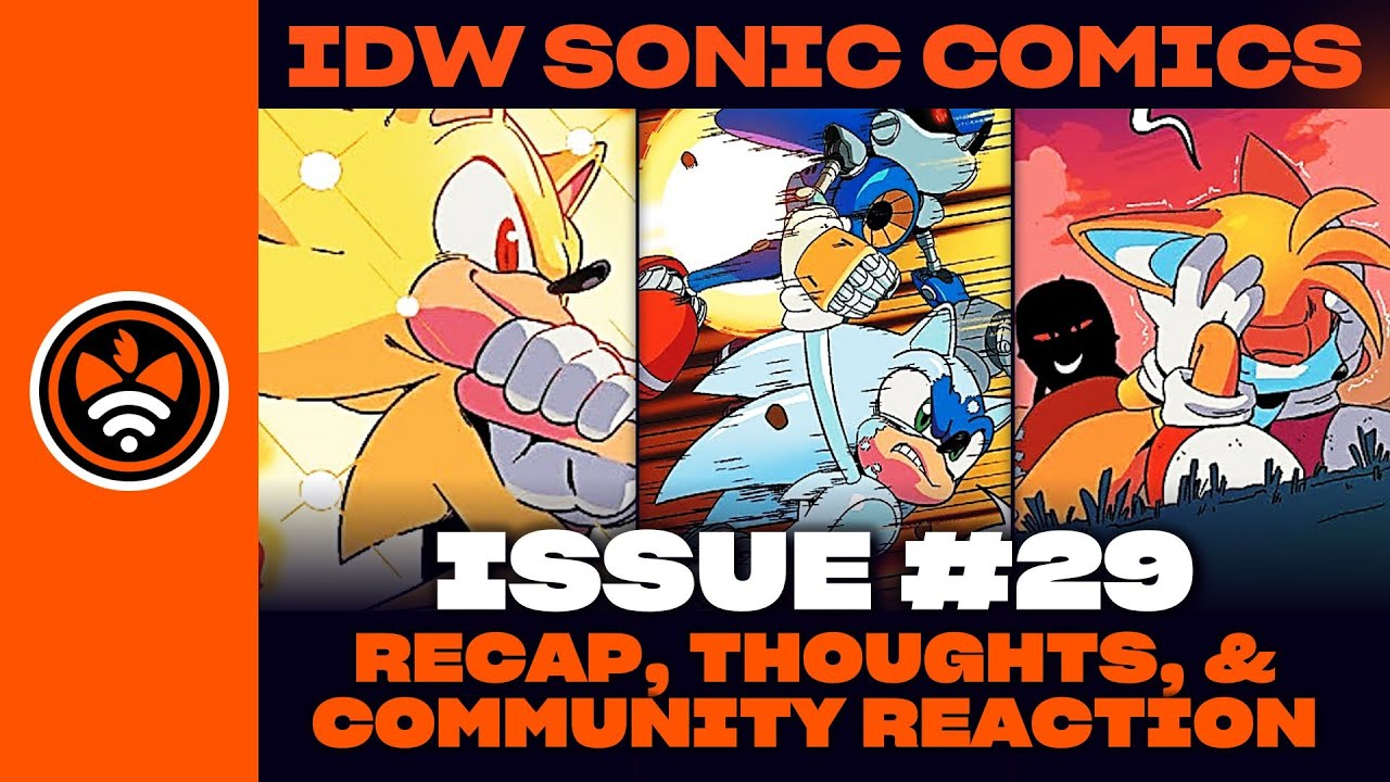 Super Sonic & Super Silver! | Tails is Scared Again? - IDW Sonic #29 Review & Community Reactions