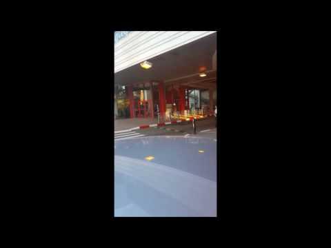 SHOCK: Security Inspection At Kiryon Shopping Center In Kiryat Bialik