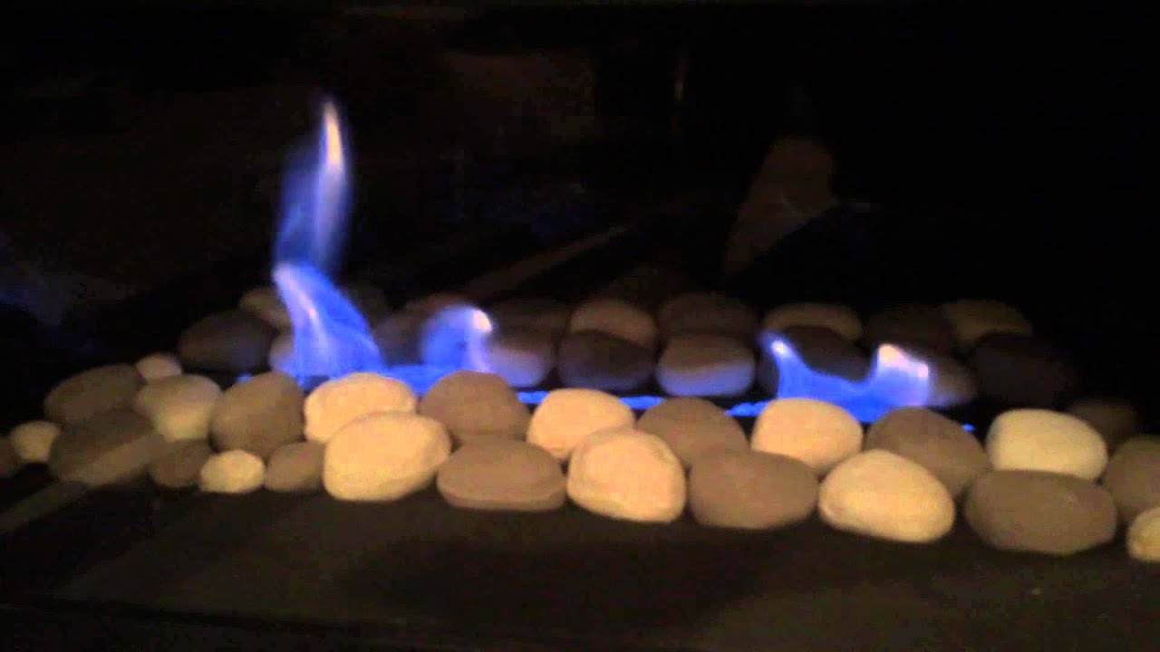 Fireplace won't light/stay lit - YouTube