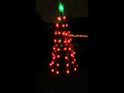 The Incredible Holiday Lightshow Christmas Tree