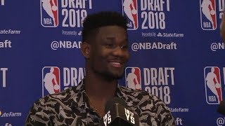 Deandre Ayton's message to Arizona fans ahead of NBA Draft: 'I love you guys'