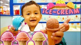 Mainan Es Krim-Es Kriman di Playground Kidzoona | Ice Cream Shop Toys