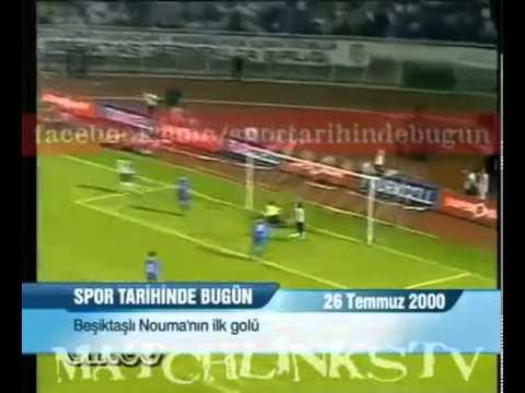 Pascal Nouma'nın Beşiktaş'ta Attığı İlk Gol