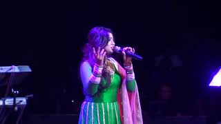 bengali song stage show by shreya ghoshal