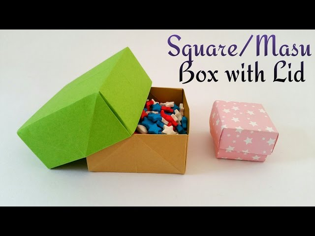 4 Ways To Make An Easy Paper Box