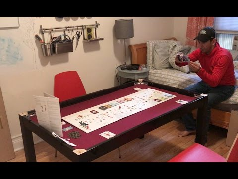 Custom DIY Board Game Table YouTube - Cheap board game table