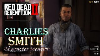 Red Dead Redemption 2 Online UPDATED* Charles Smith Character Creation