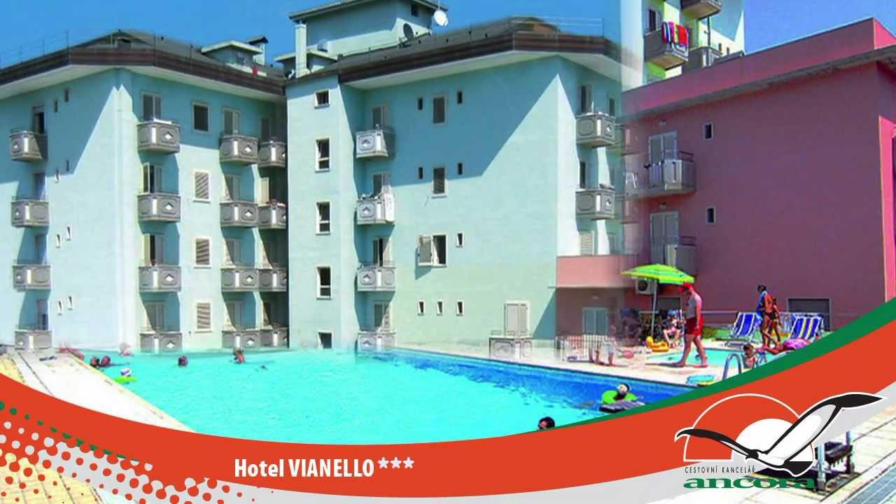 Hotel vianello lido di jesolo italy youtube for Designhotel jesolo