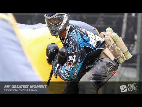 Greatest Paintball Moment: Ronnie Dizon Aftershock (by Planet Eclipse)