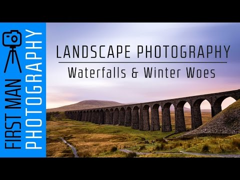 Landscape Photography - Waterfalls and Winter Woes