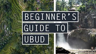 Beginners Guide to EXPLORING UBUD // TOP 5 Things To Do In UBUD, BALI // INDONESIA