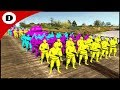 THE NEON ALLIANCE MARCHES IN FORCE - Army Men: Neon Wars 5