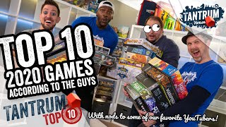 Top 10 Board Games of 2020: Guys Edition