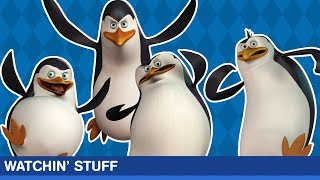 PENGUINS OF MADAGASCAR REVIEW | Watchin' Stuff