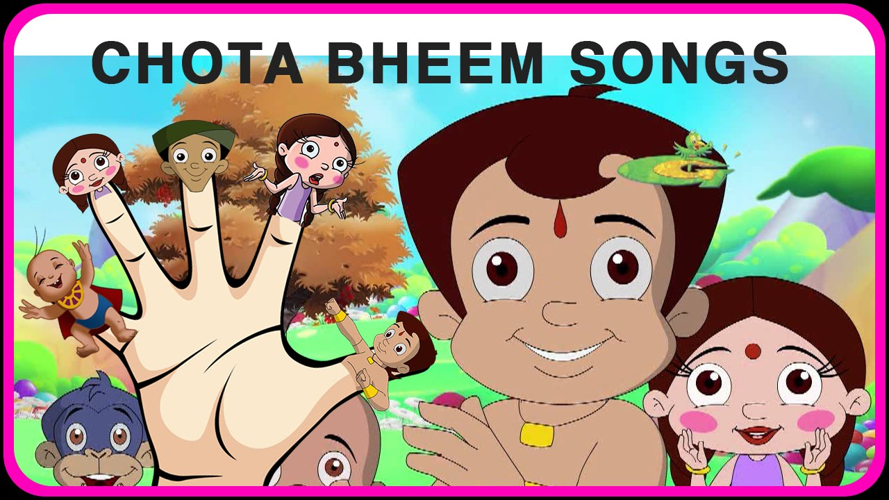 finger family nursery rhymes daddy family song chota bheem finger