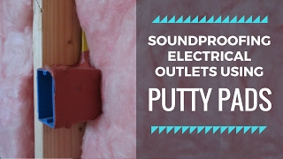 Soundproofing electrical outlets in walls