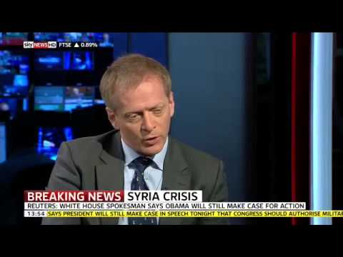 Dr Phillip Lee MP in an Interview with Adam Boulton on Sky News about Syria