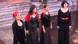 O BONE JESU - ADORAMUS TE from Drei Geistliche Chöre, Johannes Brahms - QUATUOR MELIADES