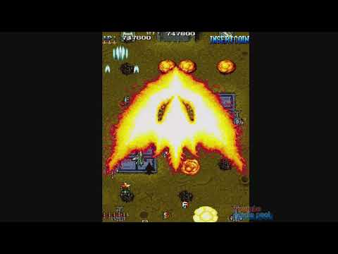 1993 Blue Hawk (Arcade) Game Playthrough Video Game