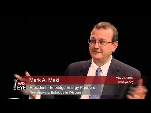 Newsmakers: Enbridge in Wisconsin