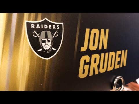 Jon Gruden Oakland Raiders Head Coach At 2019 NFL Owners Meeting