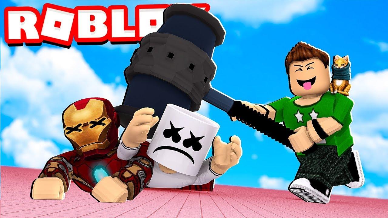 Baneamos A Famosos En Roblox Roblox Banning Simulator Youtube
