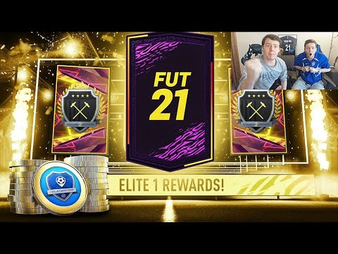 NO WAY!! WE PACKED AN INCREDIBLE PLAYER!! - OUR ELITE 2 SQUAD BATTLES REWARDS PACKS! FIFA 21 RTG #14