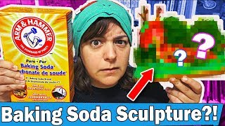 TURNING KING OF RANDOM'S HOMEMADE AIR DRY CLAY RECIPE INTO A SCULPTURE  art craft challenge DIY