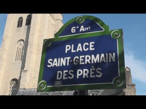 Sunday Evening in Saint-Germain-des-Prés Travel Video