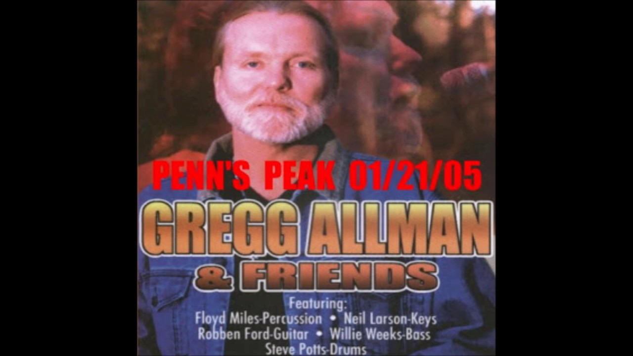Gregg Allman House Of Blues 1 21 2005 Youtube