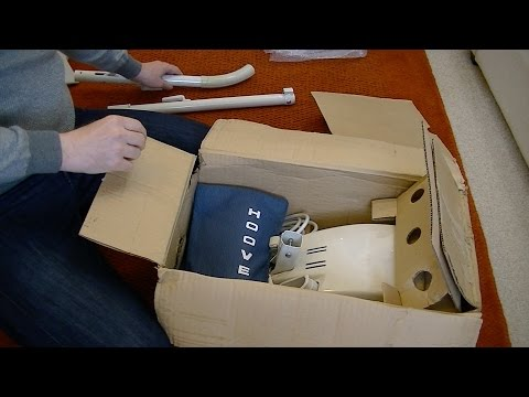 Unboxing a Vintage New in The Box Hoover 1346A Junior Vacuum Cleaner