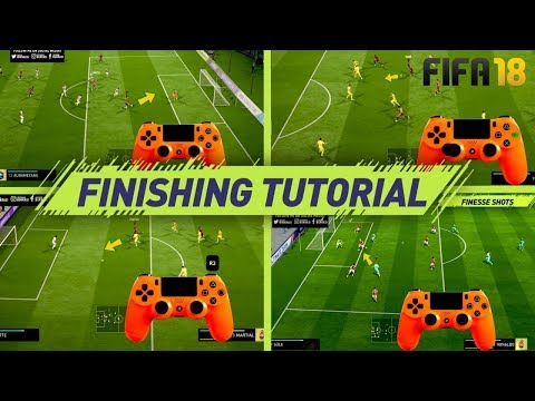 FIFA 18 FINISHING TUTORIAL - SECRET SHOOTING TIPS & TRICKS -