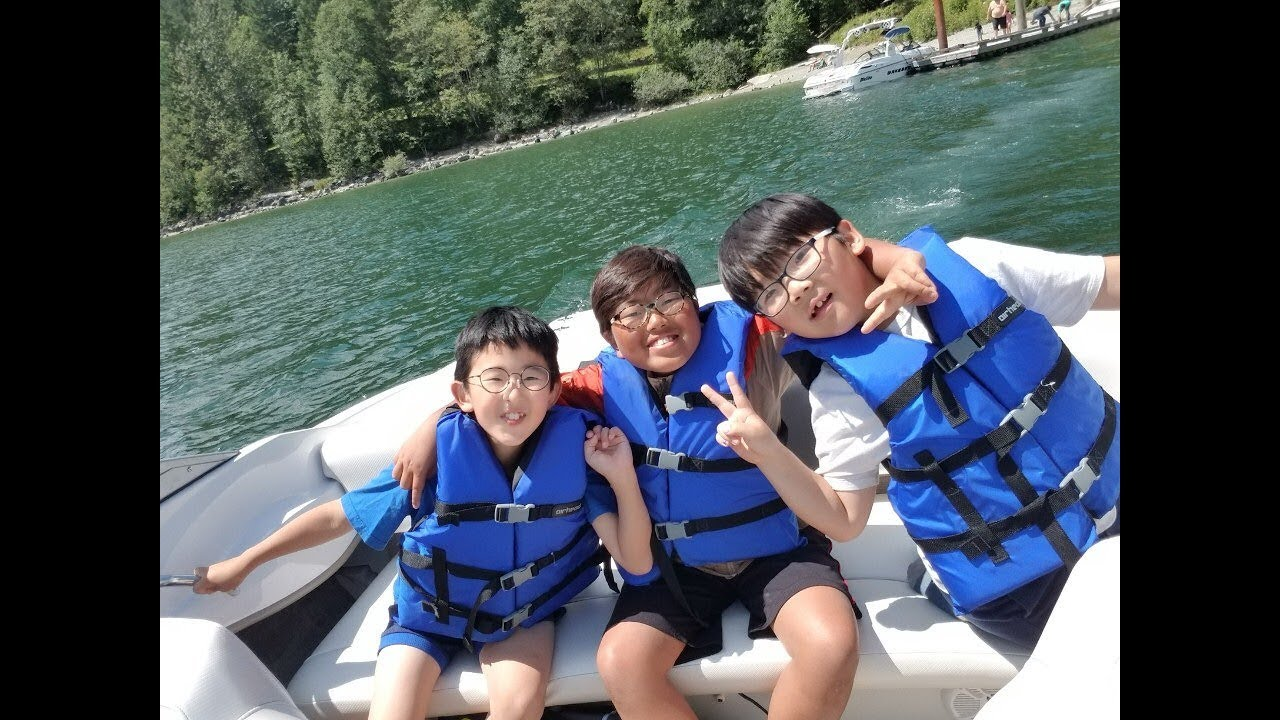 YSI 갤러리 - YSI Activity (July 12, 2019) - Boating at Alouette Lake