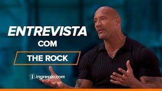 Velozes e furiosos - Hobbs & Shaw | Entrevista com The Rock | Ingresso.com