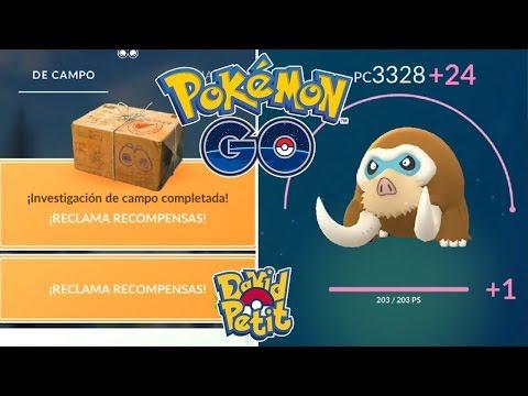 RECOMPENSA SEMANAL Y SUBIDA AL MÁXIMO DE MAMOSWINE PERFECTO! [Pokémon GO-davidpetit] thumbnail