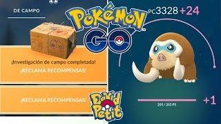 RECOMPENSA SEMANAL Y SUBIDA AL MÁXIMO DE MAMOSWINE PERFECTO! [Pokémon GO-davidpetit]