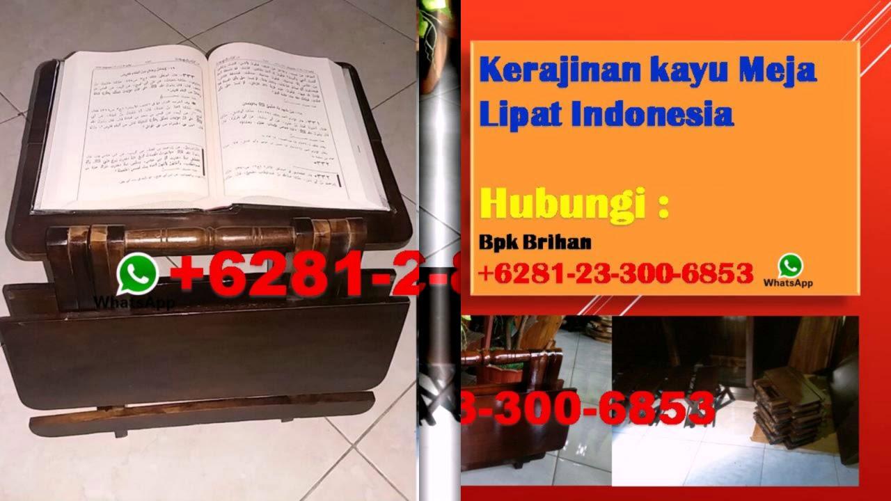 6281 23 3006 853 Pusat Kerajinan Meja Belajar Lipat Jogja Jual Meja Lipat Yogyakarta