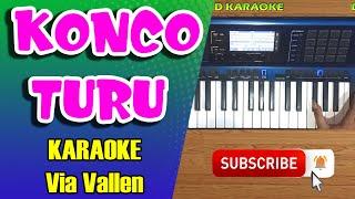 Gambar cover KONCO TURU - Via Vallen Karaoke Dangdut Koplo Tanpa Vokal