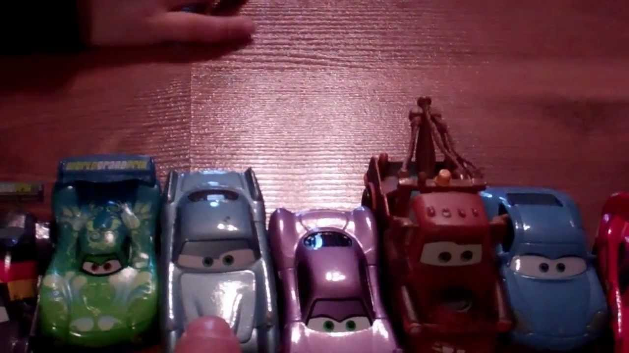 3 year old names disney cars characters youtube. Black Bedroom Furniture Sets. Home Design Ideas