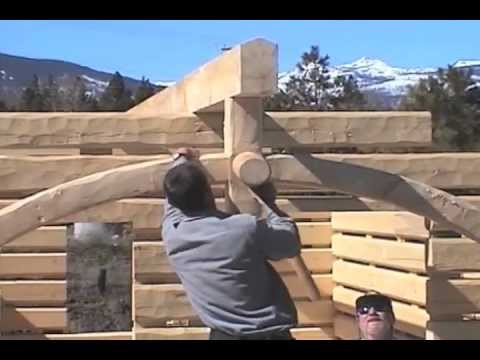 Cutting An Arched Tie Beam Youtube