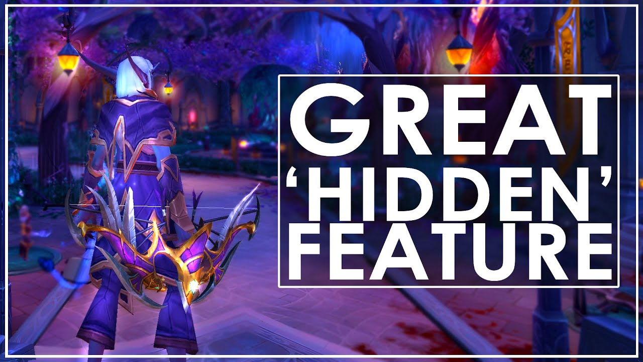 Wow Legion Awesome New Hidden Way To Target Enemies Youtube