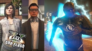 GTA 5 PC - Zoom Complete Story EP.2 - Zoom and Harrison Wells ! (Ultimate Flash Mod Story)