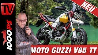 Moto Guzzi EICMA 2018 - V85 TT 2019 - technische Daten in Deutsch