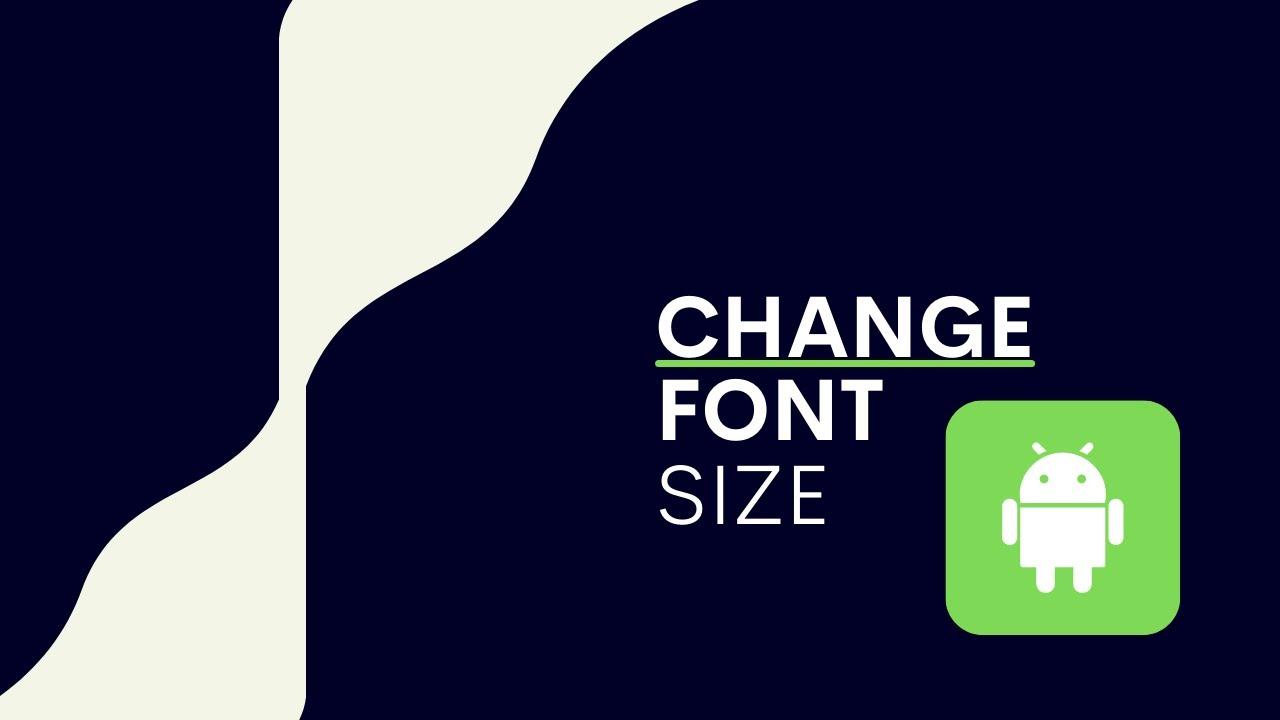 How To Make Font Bigger Samsung Galaxy S8 Samsung Tips