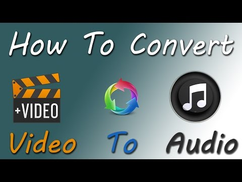 How To Convert Video To Audio/Mp3 On Android (Bangla)